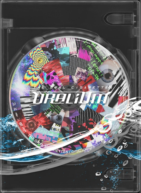 THE ORAL CIGARETTES「Experimental package『ORALIUM』ジャケット