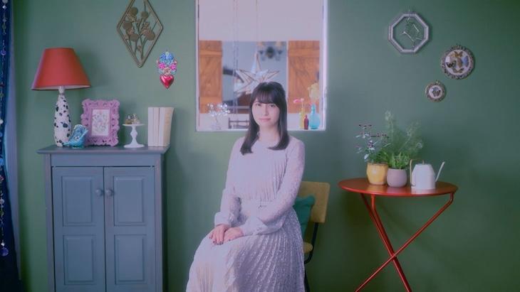中島愛「GREEN DIARY」ミュージックビデオのサムネイル。