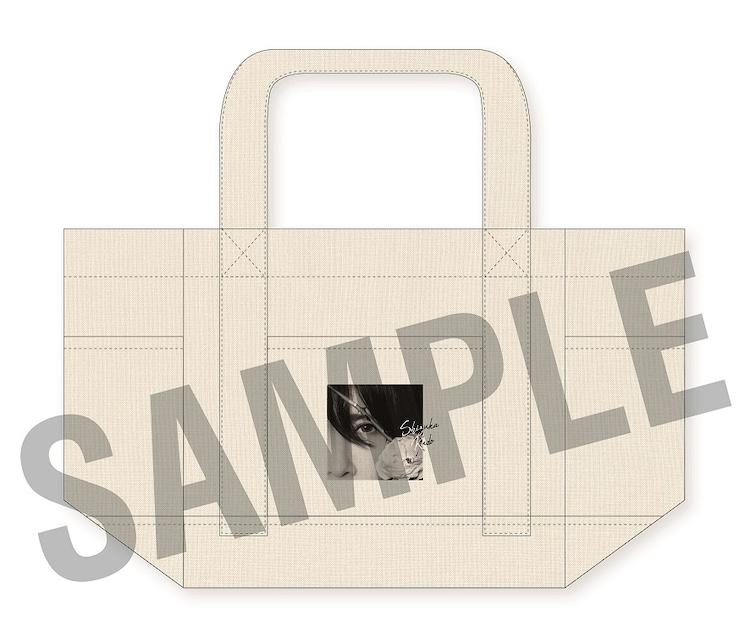 工藤静香「青い炎」完全受注生産盤付属トートバッグサンプル画像