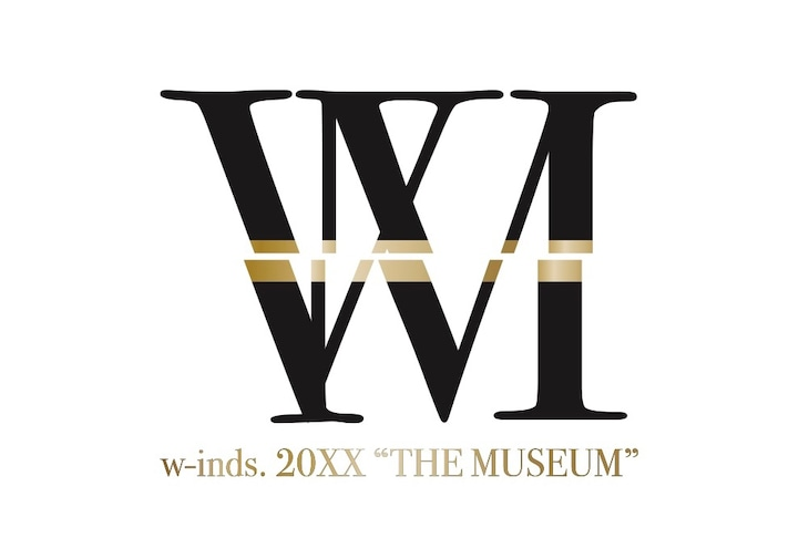"w-inds.「20XX""THE MUSEUM""」ロゴ"