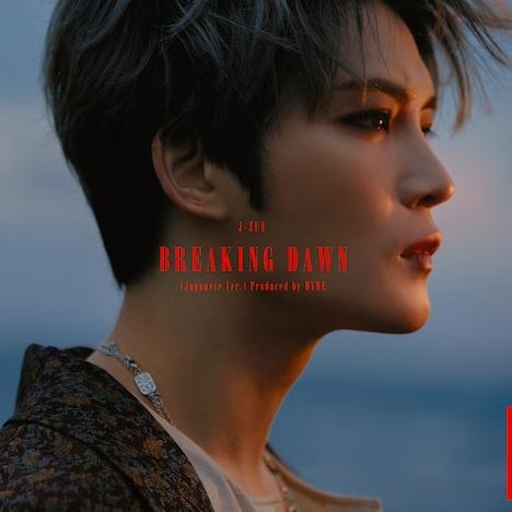 ジェジュン「BREAKING DAWN(Japanese Ver.)Produced by HYDE」TYPE-Aジャケット