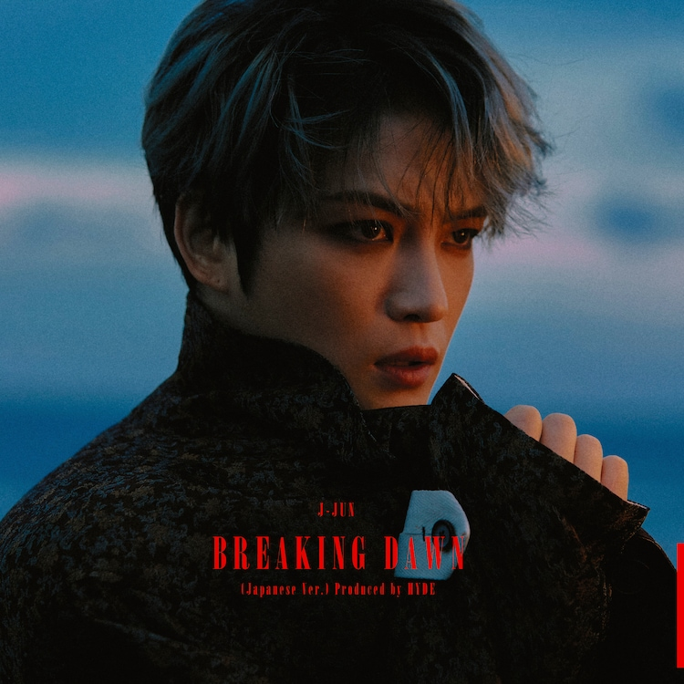 ジェジュン「BREAKING DAWN(Japanese Ver.)Produced by HYDE」TYPE-Bジャケット