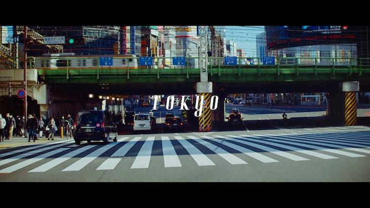 Nulbarich「TOKYO」ミュージックビデオのワンシーン。