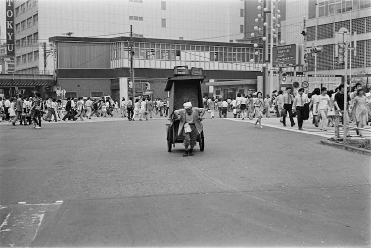 1970年代の渋谷駅前。 (c)Takada Wataru