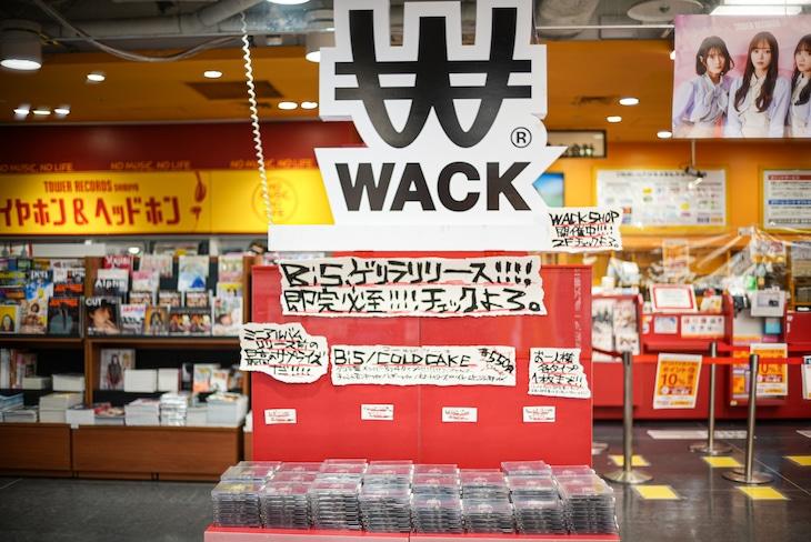 タワーレコード渋谷店のBiS「COLD CAKE」展開。