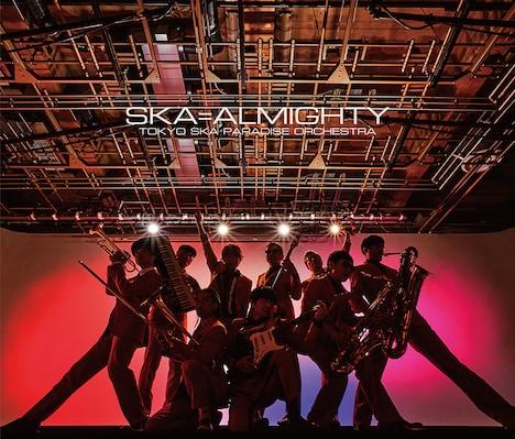 東京スカパラダイスオーケストラ「SKA=ALMIGHTY」CD+Blu-ray盤ジャケット
