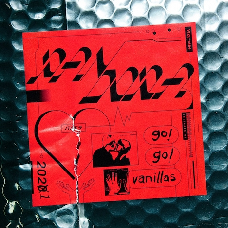 go!go!vanillas「PANDORA」完全限定生産盤パッケージ