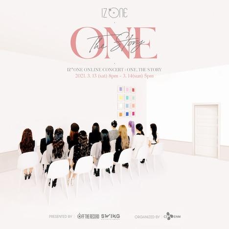 IZ*ONE「ONE, THE STORY」ビジュアル
