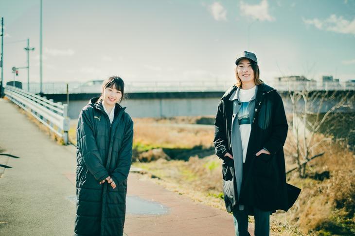 桜井日奈子とビッケブランカ。