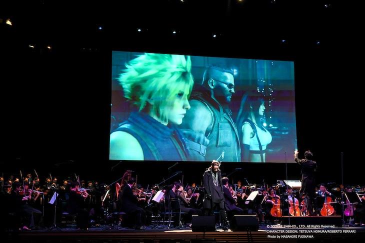 「FINAL FANTASY VII REMAKE Orchestra World Tour」東京国際フォーラム ホールA公演の様子。(Photo by MASANORI FUJIKAWA)