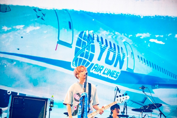 04 Limited Sazabys「YON EXPO'20」の様子。