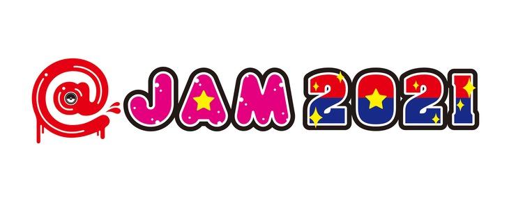 「@JAM 2021」ロゴ