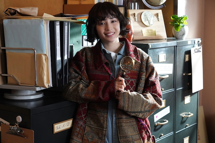 美神アンナ役の広瀬すず。(c)日本テレビ