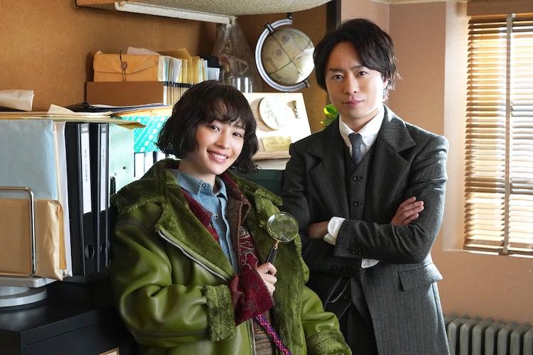 広瀬すず、櫻井翔。(c)日本テレビ