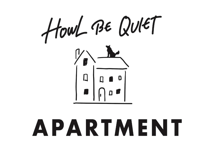 HOWL BE QUIET ロゴ