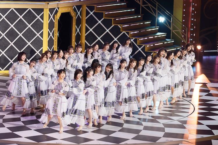 「乃木坂46 9th YEAR BIRTHDAY LIVE 2021」の様子。(写真提供:ソニー・ミュージック・レーベルズ)