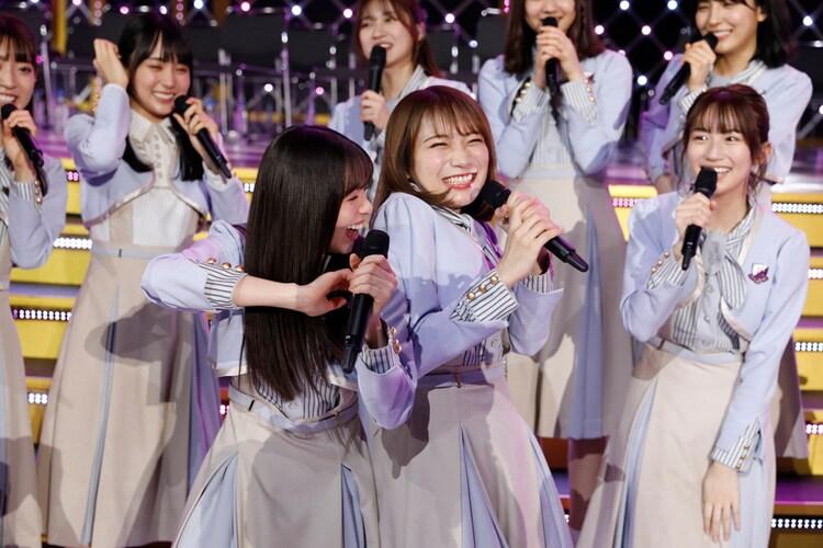 「乃木坂46 9th YEAR BIRTHDAY LIVE〜前夜祭〜」の様子。(写真提供:ソニー・ミュージック・レーベルズ)