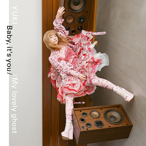 YUKI「Baby, it's you / My lovely ghost」ジャケット