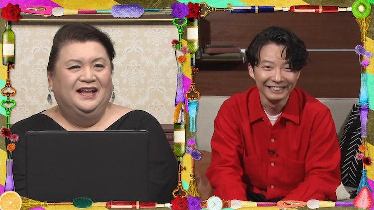左からマツコ・デラックス、星野源。(c)日本テレビ