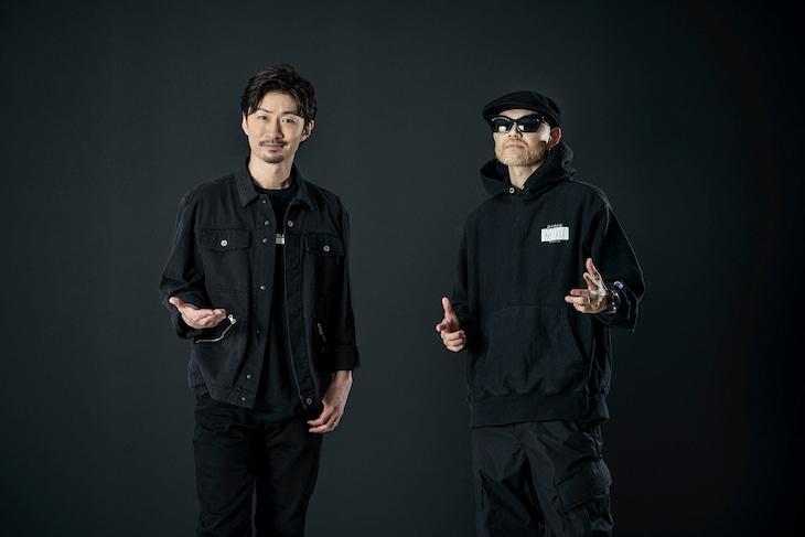 左からEXILE MAKIDAI、DJ DARUMA。