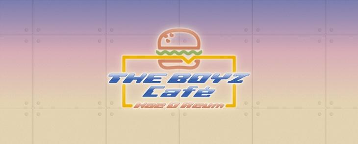 「THE BOYZ カフェ Hae O Reum」ビジュアル