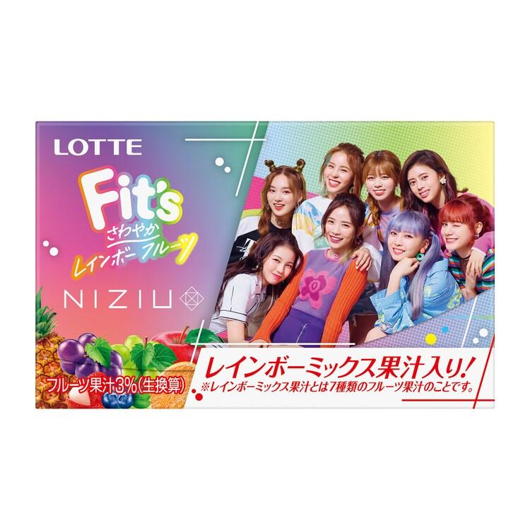 Fit's NiziUコラボガム(集合)