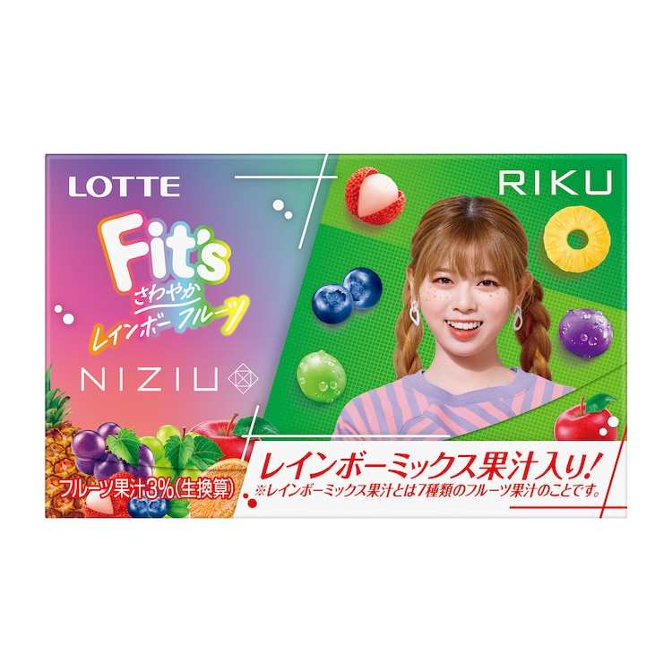 Fit's NiziUコラボガム(RIKU)