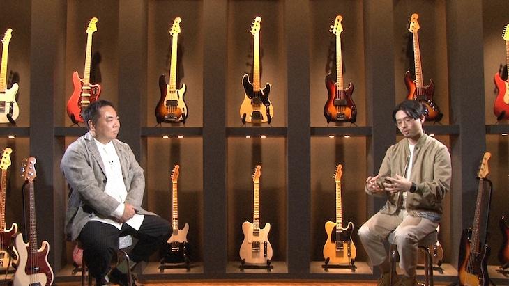 左から塚地武雅、ハマ・オカモト。(写真提供:NHK)