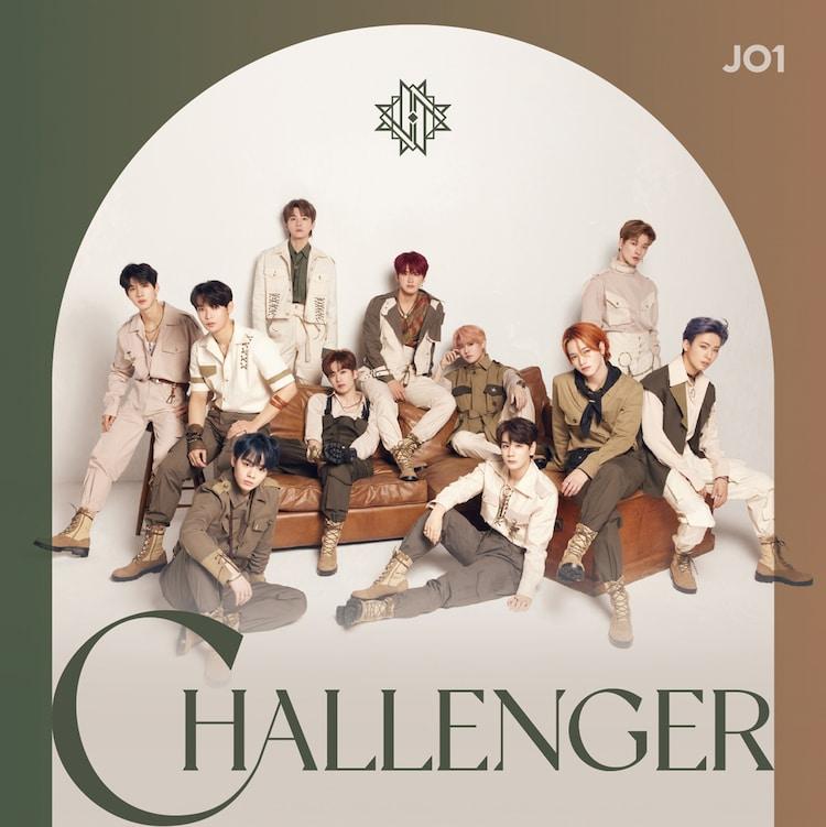 JO1「CHALLENGER」初回限定盤Aジャケット