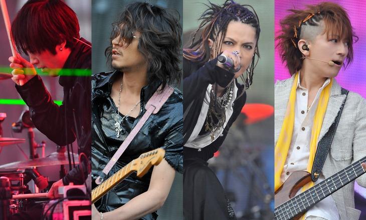 「L'Arc-en-Ciel『20th L'Anniversary WORLD TOUR 2012 THE FINAL』May 20, 2012 ユニバーサル・スタジオ・ジャパン野外特設会場」より。