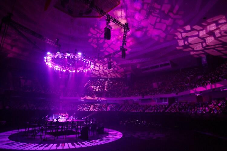 まらしぃ「marasy piano live in BUDOKAN」の様子。(Photo by ishizaka daisuke)