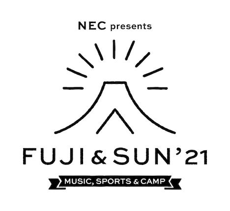 「FUJI & SUN '21」ロゴ