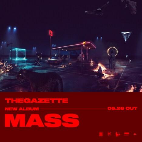 the GazettE「MASS」告知ビジュアル