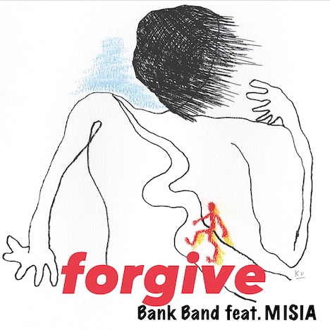 Bank Band feat. MISIA「forgive」配信ジャケット