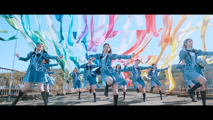 ≠ME「秘密インシデント」ミュージックビデオより。(c)YOANI/KING RECORDS
