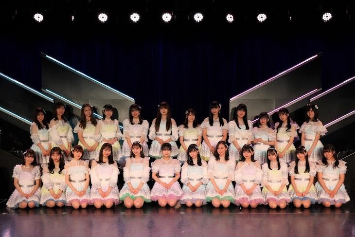 HKT48の14thシングル選抜メンバー (c)Mercury