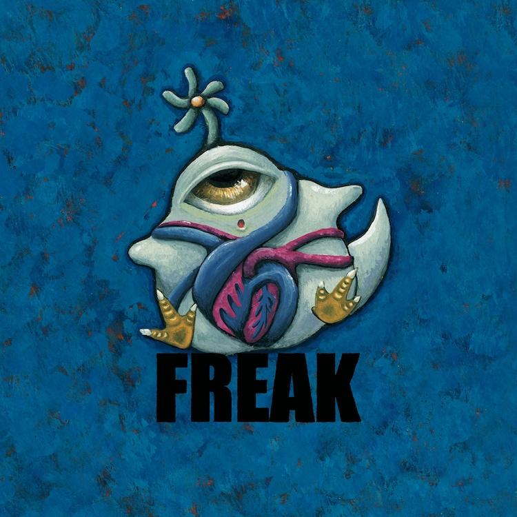 ネクライトーキー「FREAK」ジャケット