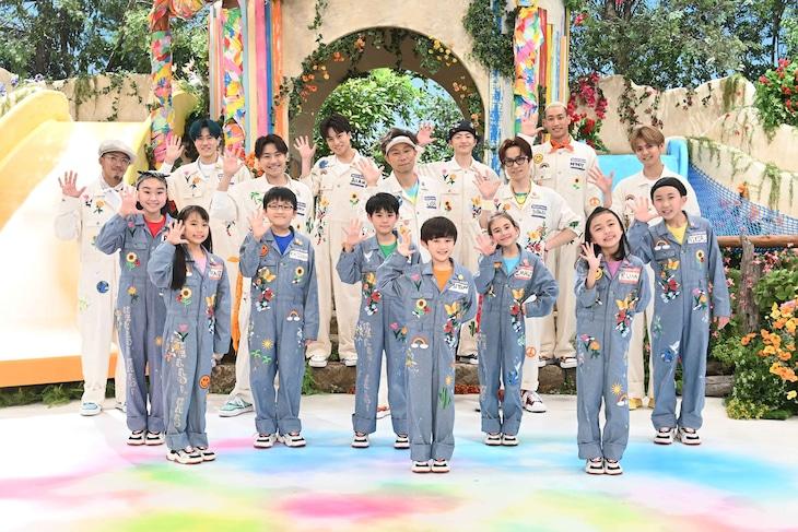 「Eダンスアカデミー」テーマソング「HELLO! HALO!(feat. DANCEARTH)」告知画像