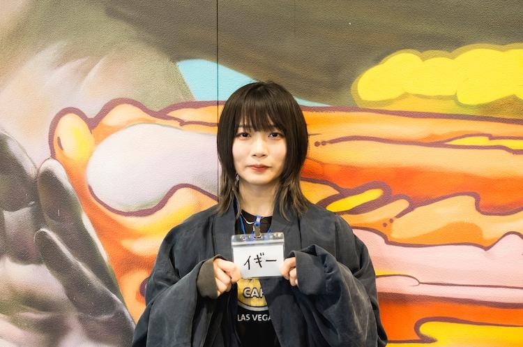イギー(Photo by sotobayashi kenta)