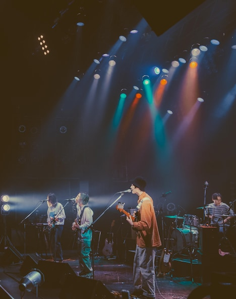 「DYGL SPRING TOUR 2021」東京・TSUTAYA O-EAST公演の様子。(Photo by ERINA UEMURA)
