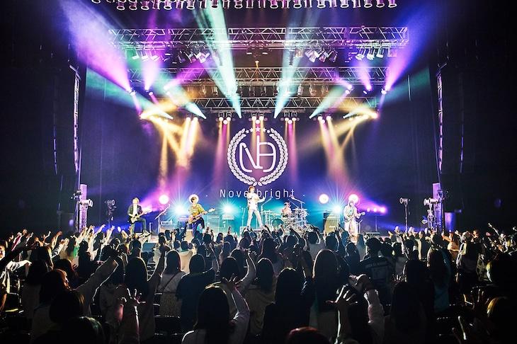 Novelbright「REMEMBER THE BRIGHT TOUR ~2020年総まとめしちゃいまSHOW~(東京)振替公演」2部の様子。(Photo by KEIKO TANABE)