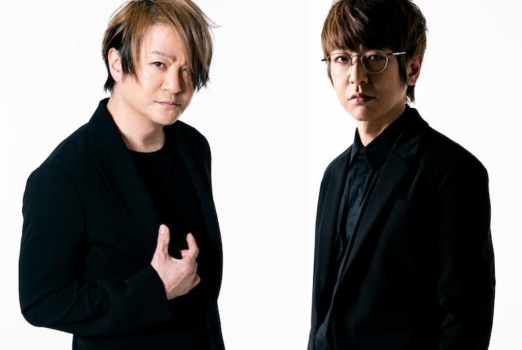 左からTERU、JIRO。(Photo by KOBA [Sketch])