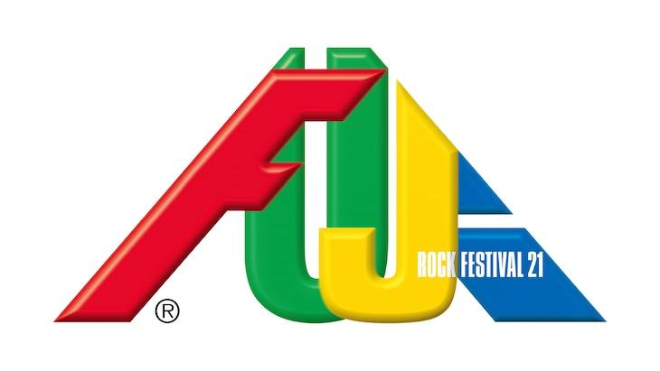 「FUJI ROCK FESTIVAL '21」ロゴ