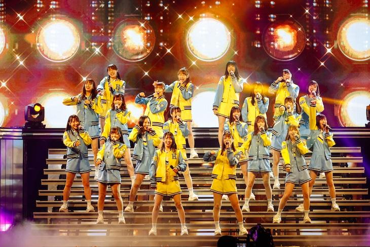 日向坂46「デビュー2周年記念 Special 2days ~MEMORIAL LIVE:2回目のひな誕祭~」の様子。(撮影:上山陽介)