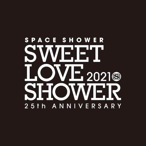 「SPACE SHOWER SWEET LOVE SHOWER 2021 -25th ANNIVERSARY-」ロゴ
