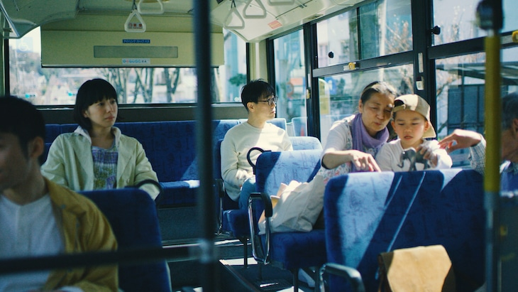 ハナレグミ「発光帯」ミュージックビデオより。