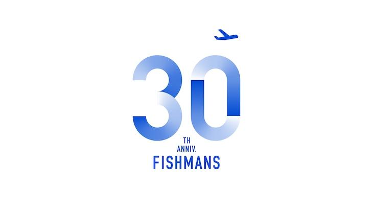 フィッシュマンズ デビュー30周年ロゴ