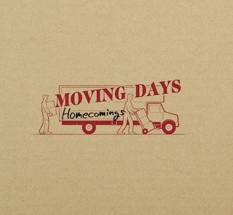 Homecomings「Moving Days」初回限定盤ジャケット
