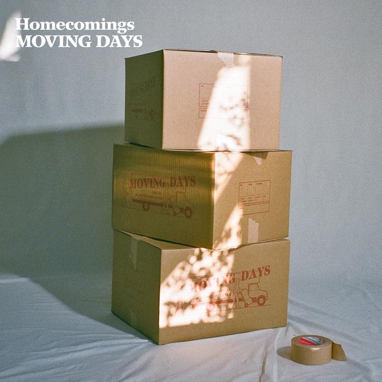Homecomings「Moving Days」通常盤ジャケット