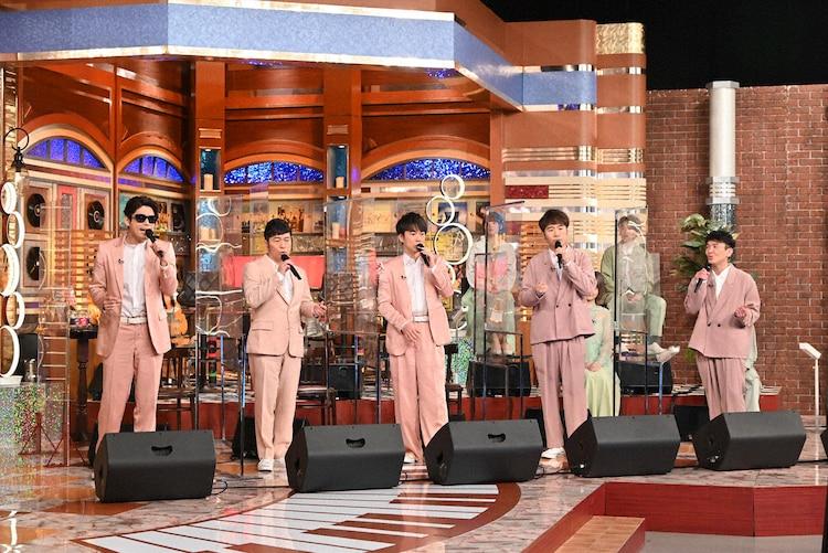 ゴスペラーズ (c)テレビ朝日